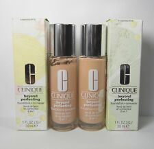 2 pc Lot CLINIQUE 4 Creamwhip Beyond Perfecting Foundation & Concealer - DAMAGED