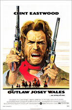 The Outlaw Josie Wales Film Poster Art Print 27x41 - Clint Eastwood