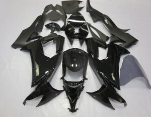 Black Fairing Kit Fit for Kawasaki Ninja ZX-10R 2008-2010 09 ABS Frame Bodywork