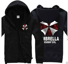 Resident Evil 6 Umbrella Corporation Hoodie Cosplay Jacket Coat Unisex 2 Color