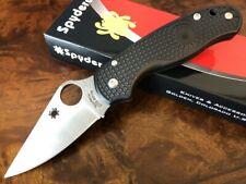 Spyderco Knife Para 3 Paramilitary 3 Lightweight FRN CTS-BD1N Plain Edge C223PBK
