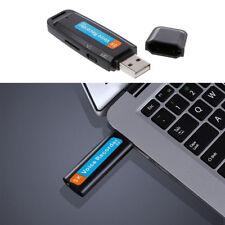 Mini Digital Spy Audio Voice Recorder Pen Dictaphone USB Flash Drive U-Disk un