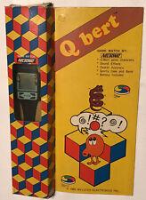 QBERT NELSONIC GAME WATCH NEW IN BOX RETRO 1982