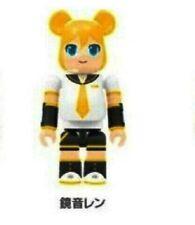 MEDICOM TOY BE@RBRICK BEARBRICK VOCALOID Hatsune Miku Len Yellow KUBRICK Figure
