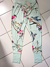 B by Ted Baker Jogger Pyjama Bottoms Size 12 Flight of Orient Pale Green