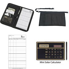 #1 Top Selling: Waiter Combo Pack - Apron| Server Book| Order Pads & Calculator