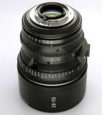 Cinematics Cine lens Nikon 28-70mm T2.9 Nikon & Canon mount for BMCC RED SONY