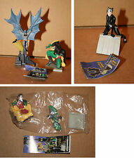 Lot Gashapon/Trading Figure, Batman et Robin + Robin + Catwoman, Batman, Bandai