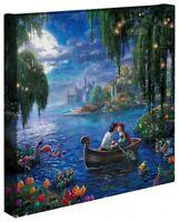 Thomas Kinkade Little Mermaid II Wrap 14 x 14 Gallery Wrap Canvas Disney