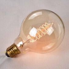 Dimmable Edison Filament Bulb Vintage Industrial Retro Light Lamp E27 Screw 220v (h)xl Large Clobe 60w