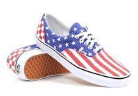 NW Vans Mens 10 Womens 11.5 Era Van Doren Stars Stripes Checker Skate Boat Shoes