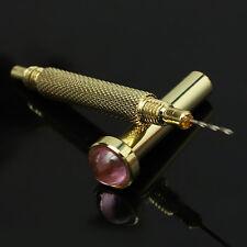 5pc Gold Hand Dangle Piercing Drill Nail Art UV Gel Acrylic Tips Pierce DIY Tool