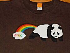 Enjoi Skateboards Shirt Mens Medium Panda Rainbow
