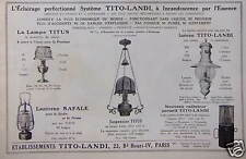 1922 ad lighting perfected system tito-landi-advertising