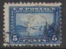 USA - 1915, 5c (Perf 10) stamp - Used - SG 430