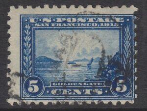 Ee.uu. - 1915 , 5c (Perforado 10) Sello - Usado - Sg