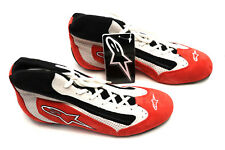 ALPINESTARS SP Racing Shoes FIA  RED BLACK  7.5 US 39 Euro SFI  Race Boot NEW