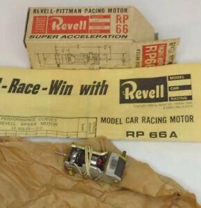 Revell Pittman Model Racing Motor RP66,12 Volt DC, Vintage 1960s New in package