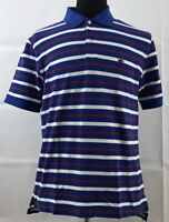 BROOKS BROTHERS Mens Performance Polo Shirt Medium Original Fit Striped