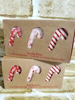 Cst CANDY CANE Scented Bar Soap 3 Oz Each