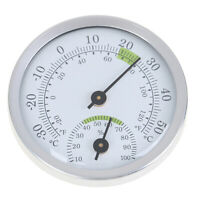 Wall Mounted Household Analog Thermometer & Hygrometer For Sauna Room Househ SE
