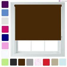 Stores marrons pour la maison, Longueur 120 cm