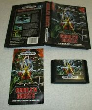 SEGA GENESIS GHOULS 'N GHOSTS COMPLETE AUTHENTIC RARE