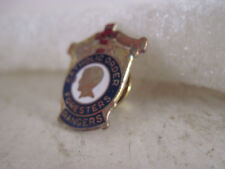 vintage  Catholic Order Foresters Rangers  cloisonne lapel pin