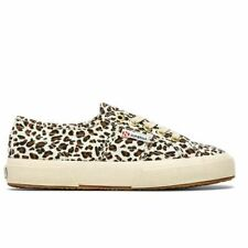 Superga Leopard Sneaker In Brown Size 6.5 Women's Canvas