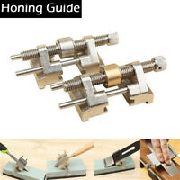 Metal Honing Guide Jig for Sharpening System Chisel Plane Iron Planers Blade UK
