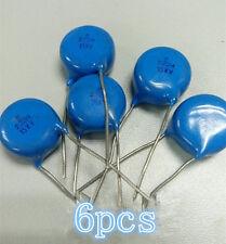 New 6PCS 15KV 2200pF 2.2nF +-20% (222M) High Voltage Ceramic Capacitor Test Good