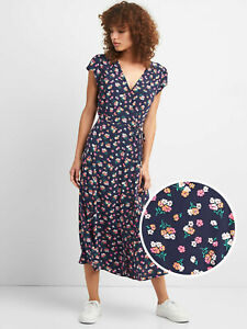 Short Sleeve Dresses Gap 2XL,XL,L,M,Multi Color Floral 100/% rayon viscose NWT