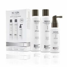 NIOXIN HAIR SYSTEM KIT 1 NORMAL THIN LOOKING CLEANSER CONDITIONER SCALP 300ml