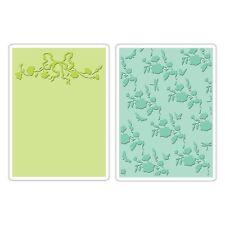 Sizzix Texturado las carpetas de grabado Arbor & Garden Roses Set 659250 reducido