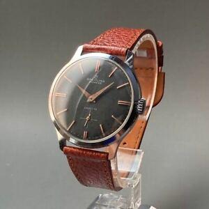 BREITLING vintage watch 1950s men's manual winding case diameter 36 mm Japan