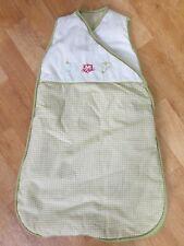 White & Green Baby Sleeping Bag/Growbag