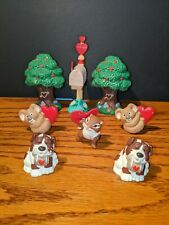 Hallmark Valentine's Day Merry Miniatures Lot Of 8