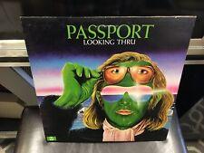 Passport Looking Thru LP Atco 1974 EX [German jazz fusion]