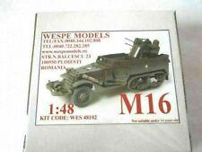 M 16 Multiple Gun Motor Carriage - Wespe Models 1:48 half-truck  resin kit 48102