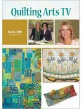 Quilting Arts TV Series 500 by Interweave (2009, DVD)