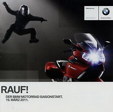 Prospekt BMW Motorräder Motorrad 19.3.11 2011 Saisonstart brochure K 1600 GT u.a