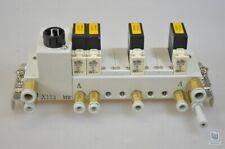 SMC X123 +4x VQ110-5F-Q/X 123+ 4x VQ1105FQ, Valve Terminal