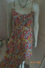 ATMOSPHERE @ PRIMARK PINK FLORAL SUN DRESS SIZE 18 BNWT
