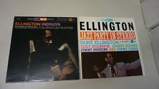 LOT 2 DUKE ELLINGTON - JAZZ PARTY IN STEREO JCS 8127 - INDIGOS CS 8053 LP  MINT