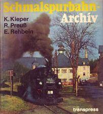 Schmalspurbahn-Archiv  (Reich bebildert/transpress) 1982/SELTEN