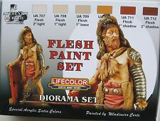Lifecolor Acrylics LC-CS13 Flesh Paint Set