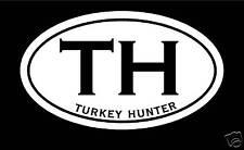 Turkey Hunter Decal Sticker archery bowhunting