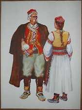 Croatia Folk Costume - Dalmatia - Benkovac - I/01