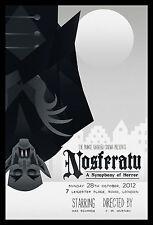 NOSFERATU MOVIE POSTER (dormire) VARIANTE Limited Edition STAMPA SILENT HORROR