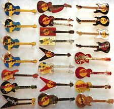 23 Hard Rock Cafe STOCKHOLM 1990s GUITAR PIN Collection LOT HRC HTF Rares!